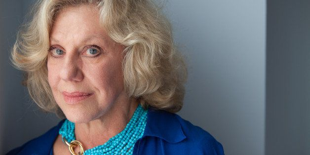 New York, NY - October 03, 2013 : Author Erica Jong at her apartment in New York, NY on October 03, 2013. Fear of Flying, cel