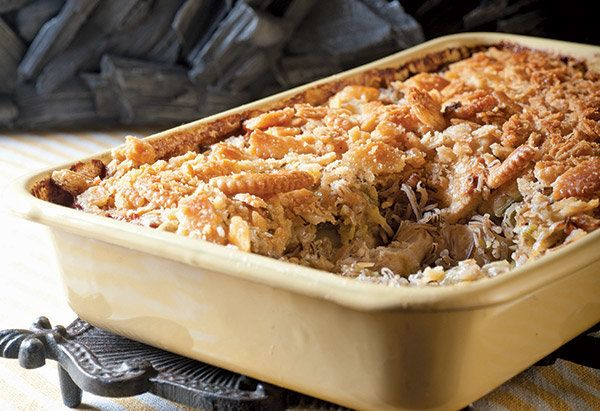 """First up is this homespun """"hotdish,"""" an update on the famous chicken-wild rice combination. Thielen makes a simple, fresh mus"""