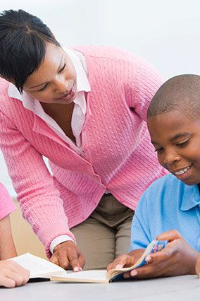 Help kids and teens get beyond the grammar grind of <em>there</em>, <em>they're</em> and <em>their</em>. Tutors with 826 Nati