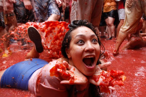 """And finally, one Wednesday every year is destined to be special, thanks to <a href=""""http://www.latomatina.org/"""" target=""""_blan"""