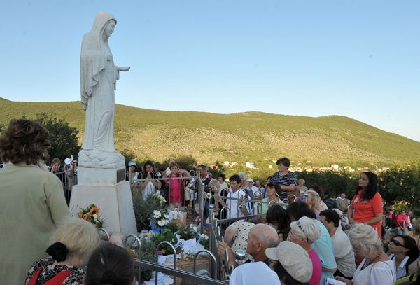 "Medjugorje has been an important pilgrimage site since 1981 when six local ""visionaries"" began seeing <a href=""http://www.med"