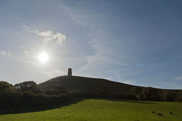 "<a href=""http://www.sacred-destinations.com/england/glastonbury-tor"" target=""_blank"">Glastonbury Tor</a> is the  name of a En"