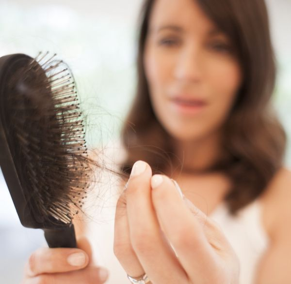 While all-over shedding can be relatively common with age, losing hair in tiny patches is not. It can be caused by many thing