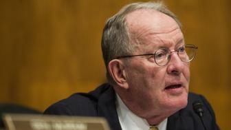 Senator Lamar Alexander, a Republican from Tennessee and chairman of the Senate Health, Education, Labor and Pension Committee, speaks during a nomination hearing in Washington, D.C., U.S., on Wednesday, Nov. 15, 2017. The Trump administration's pick for solicitor of labor would be charged with overseeing one of the largest government legal shops and have independent authority to file lawsuits enforcing some 180 federal workplace statutes. Photographer: Zach Gibson/Bloomberg via Getty Images
