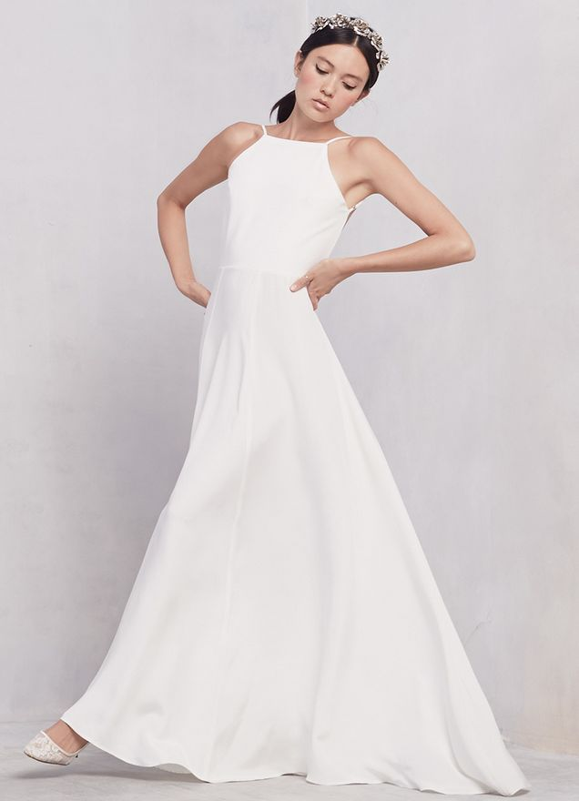 """Get it at <a href=""""http://www.thereformation.com/products/noelle-dress-6"""" target=""""_blank"""">The Reformation</a>."""
