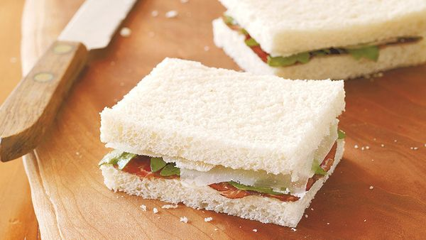 A Mediterranean take on English high tea sandwiches, tramezzini make us reevaluate our position on plain white bread. Because