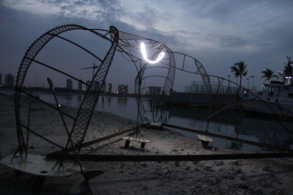 ZOE at night. Puerto Cancun,  2011.