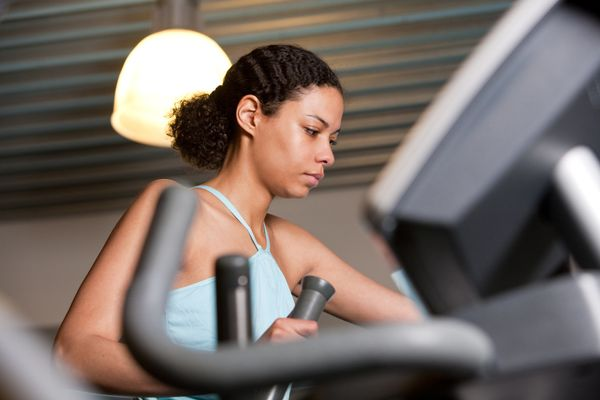 "The ""quick start"" button on an exercise machine, which usually gets the gears moving at a consistent pace, is known to be the"