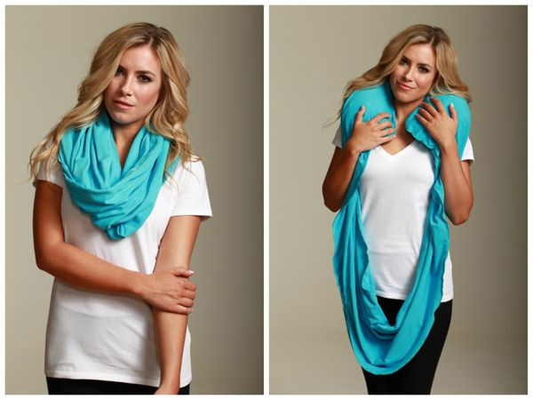 "<b>What:</b> <a href=""http://www.sleeperscarf.com"" target=""_blank"">The Sleeper Scarf</a>, $65  <br><br><b>What for:</b> Helpi"