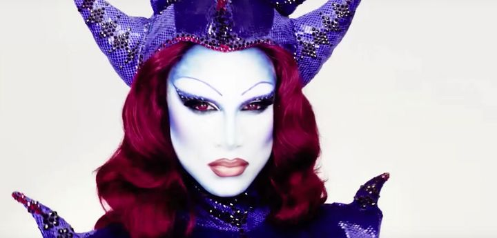 Drag queen makeup tutorials are perfect for an over-the-top Halloween look.
