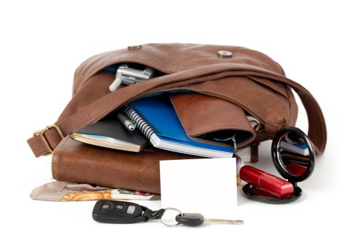 Throw out all that clutter in your handbag. Get a lighter bag and do it now.