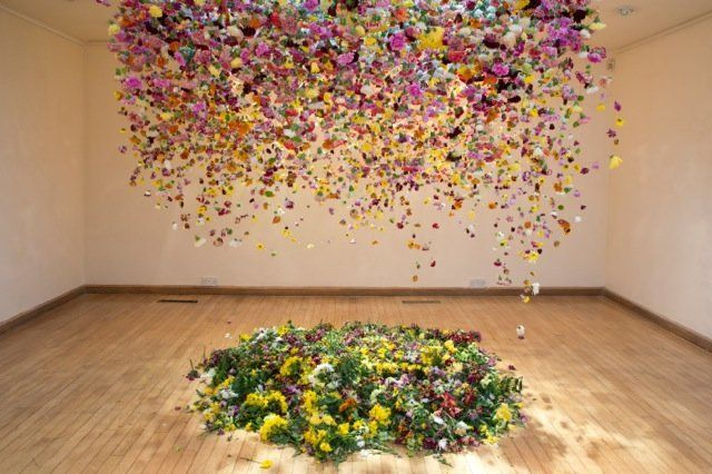 """""""The Hated Flower,"""" 2014, Coningsby Gallery, London"""