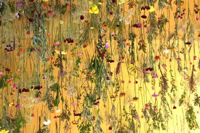 """""""Grecian Garden,"""" 2014, Onassis Cultural Centre, Athens"""