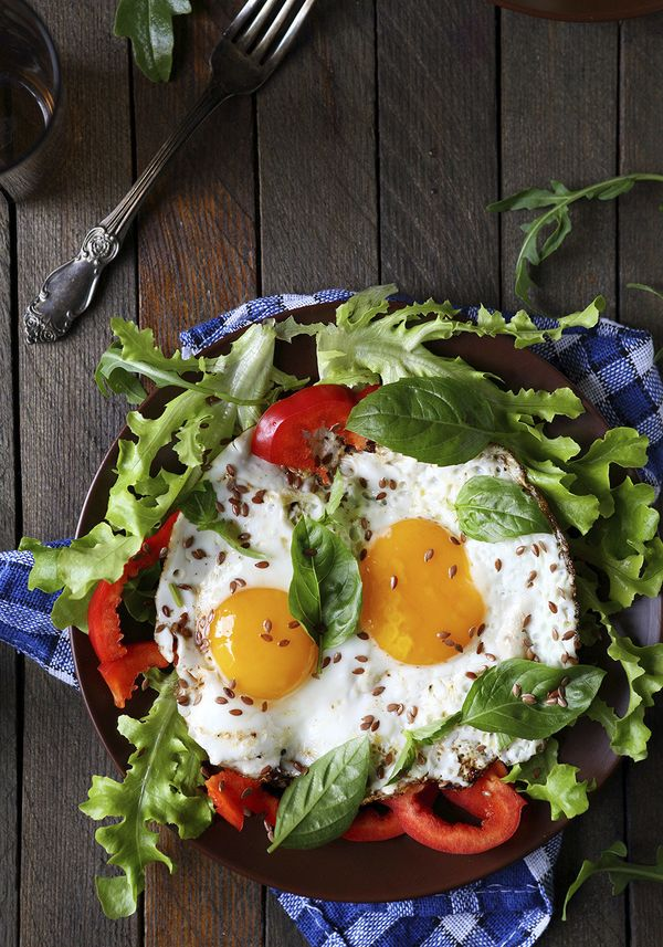 <b>The craving:</b> High-fat comfort snacks (e.g., French fries, pizza, doughnuts). <br><br><b>Try:</b> Eat eggs for breakfas