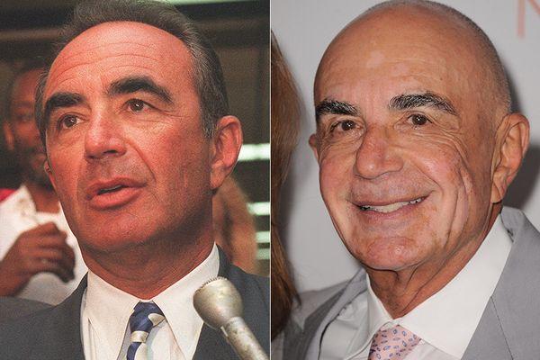 LEFT: Robert Shapiro in 1994.  RIGHT: Robert Shapiro in 2013.