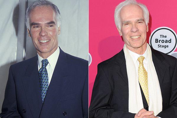 LEFT: Gil Garcetti in 1994.   RIGHT: Gil Garcetti in 2014.
