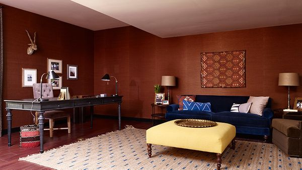 """If you prefer marsala's brown undertones, look for a color that's closer to rust or burnt red. <a href=""""http://www.houzz.com/"""