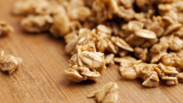 It can be tricky (or downright messy) to eat granola without a spoon; all those healthful bits of oats, nuts and seeds tend t