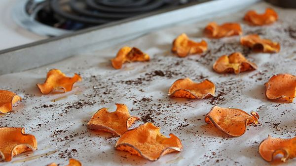 Homemade veggie chips -- whether potato, kale or even Brussels sprouts -- have a lot going for them. They tend to be crispier