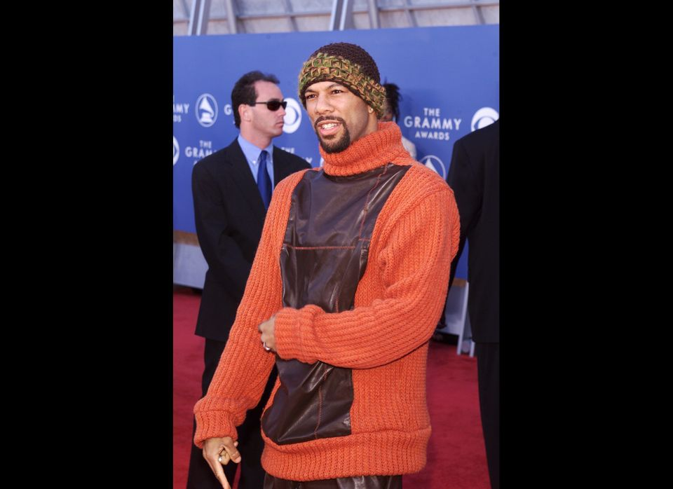 Common arrives at the 43rd Annual Grammy Awards at Staples Center in Los Angeles, CA on February 21, 2001. Photo credit: Kevi