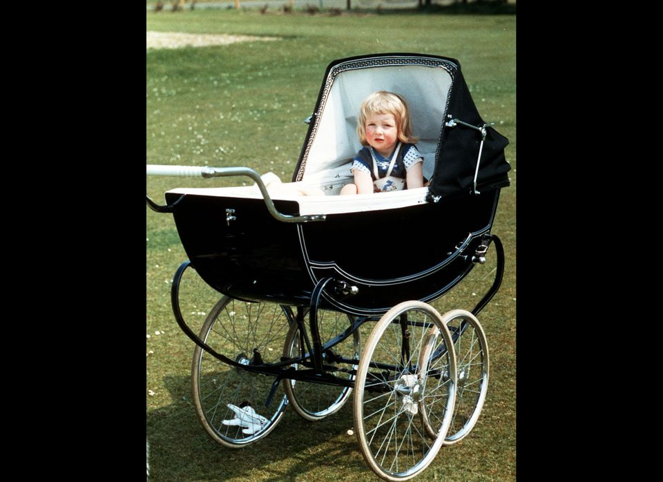 FAMILY PICTURE OF LADY DIANA SPENCER IN HER PRAM AT PARK HOUSE, SANDRINGHAM, NORFOLK. * Picture Circa 1963/1964