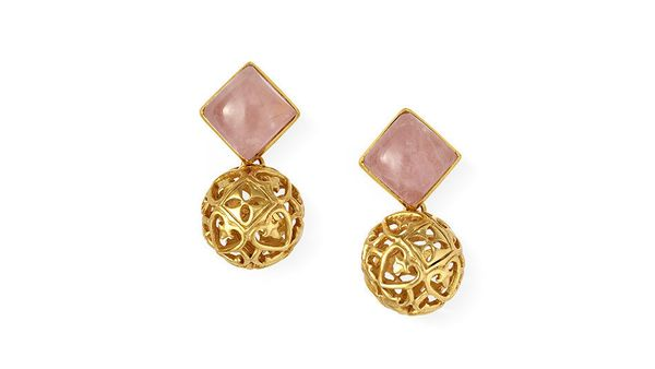 "Available at: Julie Vos, $165, <a href=""http://www.julievos.com/collections/earrings/products/versailles-sphere-earring"" targ"