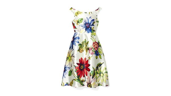 "Available at: ASOS, $135, <a href=""http://us.asos.com/ASOS-Bright-Daisy-Bardot-Prom-Dress/15oba3/?iid=4775412&cid=15801&Rf101"