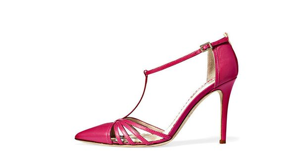 "Available at: Carrie, SJP, $355, <a href=""http://www.zappos.com/sjp-by-sarah-jessica-parker-carrie-pink"" target=""_blank"">Zapp"