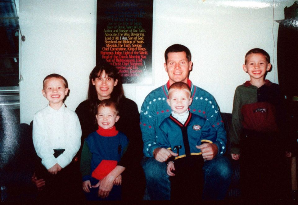 This undated family photo shows four of the five children of Andrea Yates, 36, who confessed on June 20, 2001 to murdering he