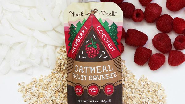 An oats-and-fruit pouch is a novel way to get that combination of sweet and toothsome, at a way lower calorie count. These fr
