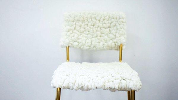 "This <a href=""http://treasuresandtravelsblog.com/blog/2013/11/6/diy-ikea-hack-stig-stool-tejn-rug"" target=""_blank"">before-and"