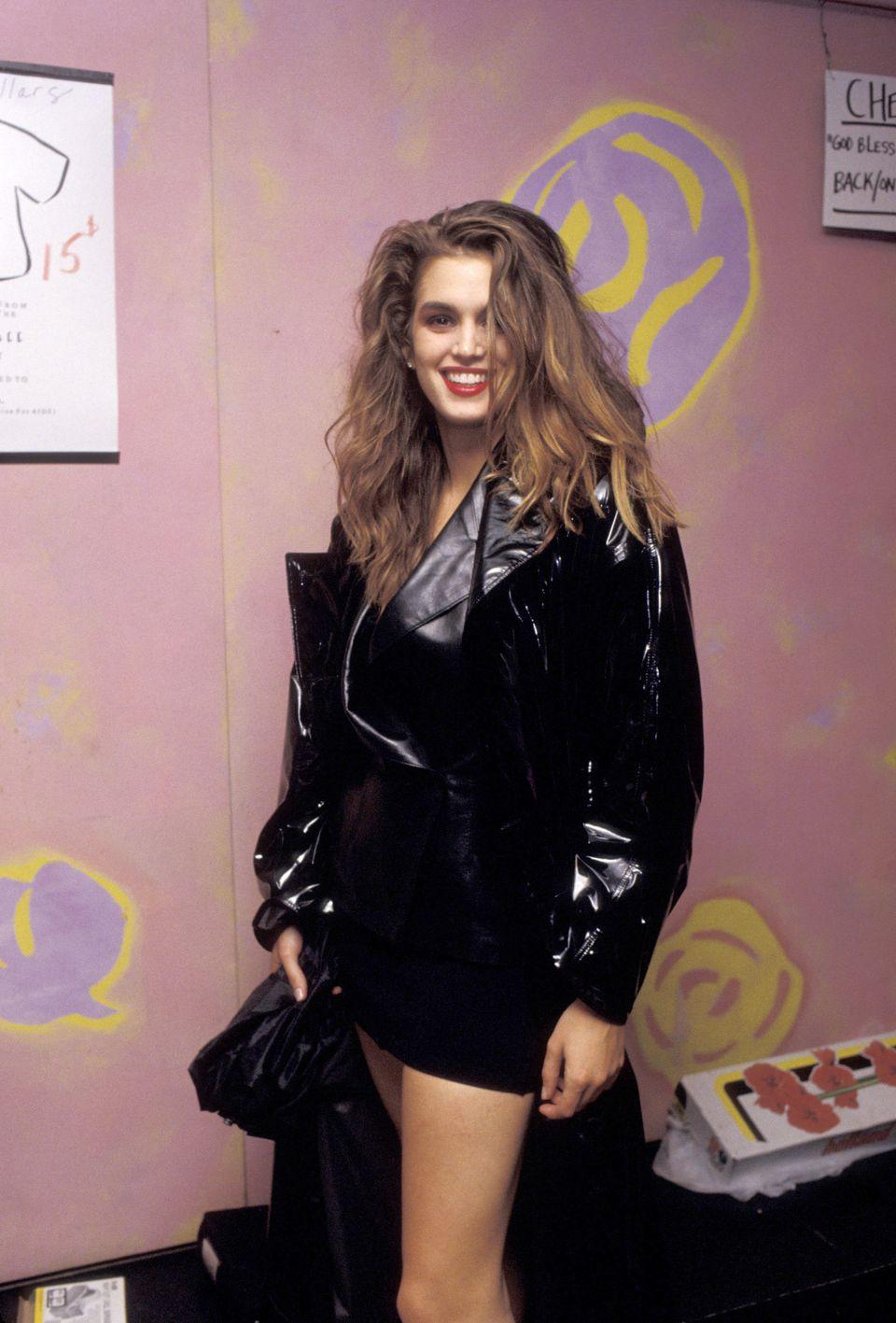 Nailin' the '80s style.