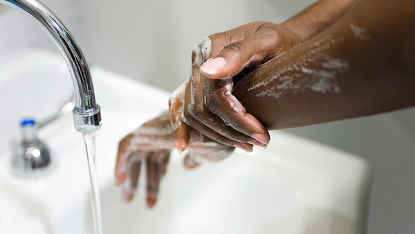 """I wash my hands immediately after a workout,"" says Susan Stanley, a trainer at Equinox in New York. It's a good idea: Sixty-"
