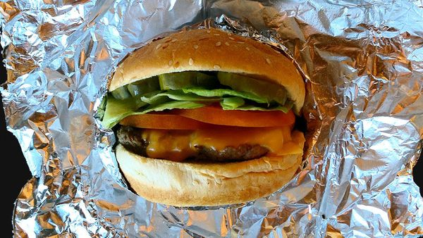 <strong>Best bet: </strong>You came for the burger, so go ahead and get it. Add the vegetable works on top (lettuce, tomato,