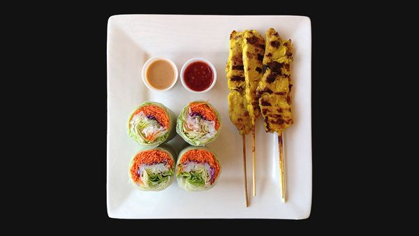 <strong>Best bet:</strong> To start, get summer rolls over spring rolls&#8212;the former is wrapped in rice paper instead of