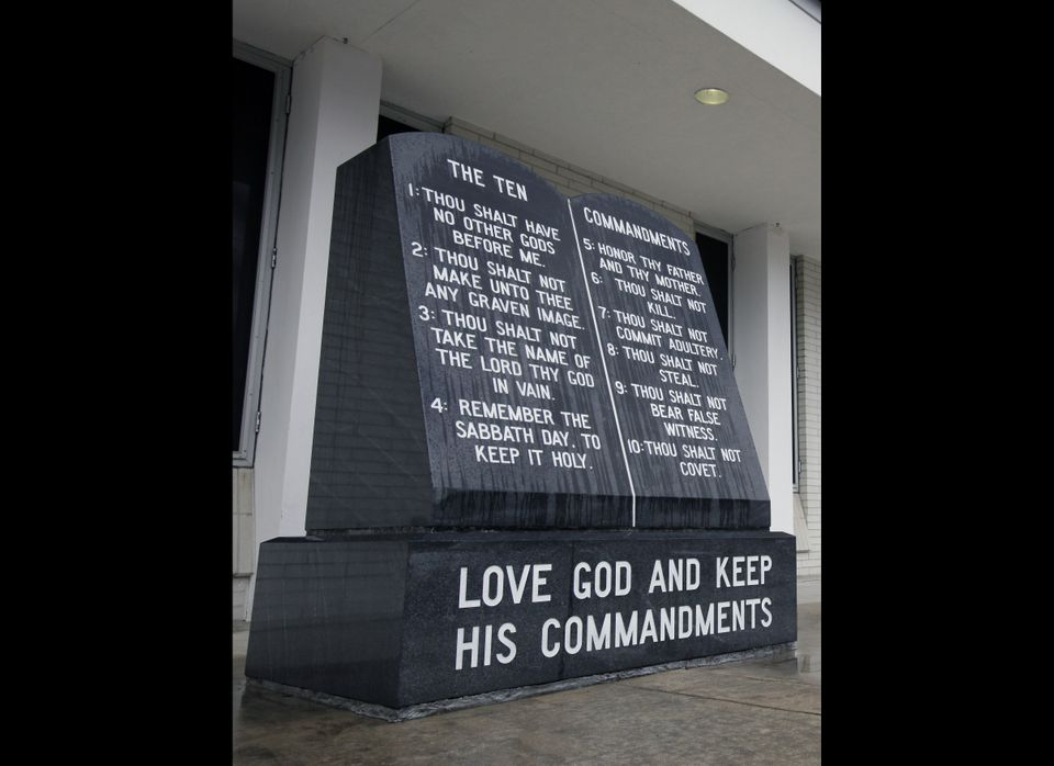 <strong><em>Johnson County Settles Ten Commandments Suit, Will Allow Church-State Separation Display</em></strong>  MOUNTAI