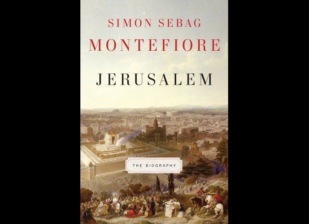 """<a href=""http://www.amazon.com/Jerusalem-Biography-Simon-Sebag-Montefiore/dp/0307266516/tag=aolholiday-20?tag=thehuffingtop-"