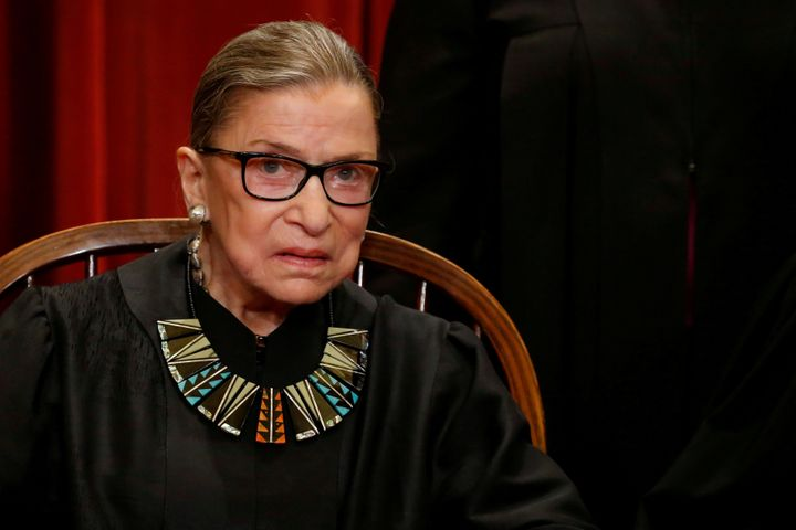 Justice Ruth Bader Ginsburg did leave open the possibility that the Supreme Court might stop the depositions at a later date.