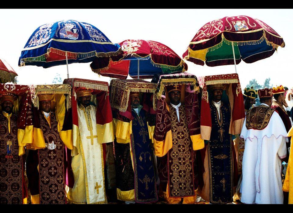 Timkat is the Ethiopian Orthodox celebration of Epiphany. It is celebrated on January 19 (or 20 on Leap Year), corresponding