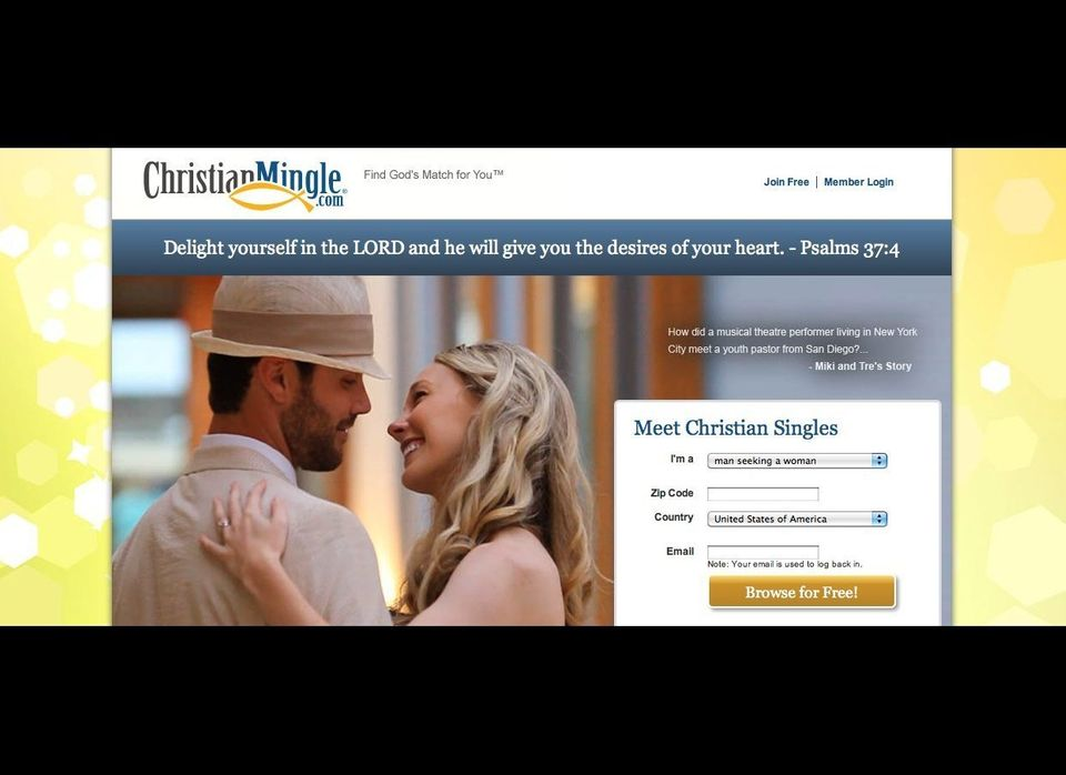 """""""<a href=""""http://www.christianmingle.com/"""" target=""""_hplink"""">ChristianMingle</a> is an online community created specifically f"""