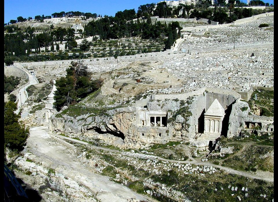 Tombs in the Kidron Valley.