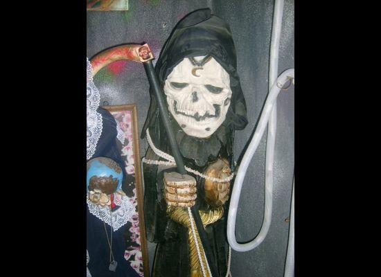 Santa Muerte: The Skeleton Saint's Deadly American Debut