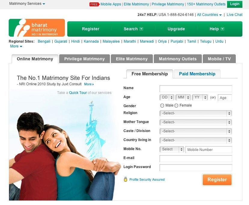 Hindu matchmaking website