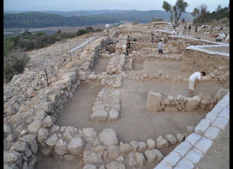 Photo credit: Khirbet Qeiyafa Archaeological Project