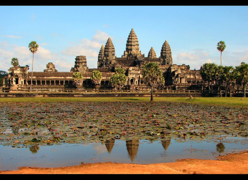 Angkor Wat is the principle temple of Angkor, which served as the seat of the Khmer Empire and was enlisted as a World Herita