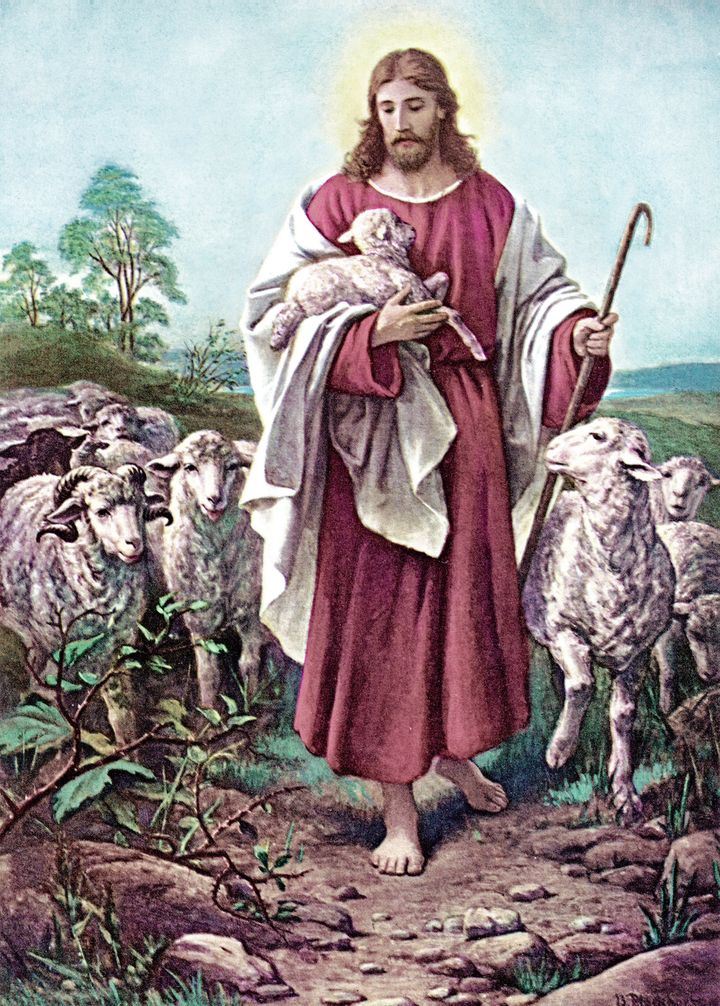 Jesus wanted his disciples to be good leaders.  The parable of the Good Shepherd is also a message of comfort for the flock,