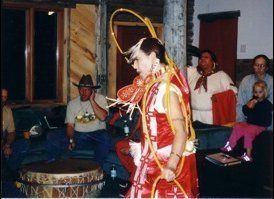 """Hoop Dancer"" : Rev. Fern Cloud, (Dakota), Rev Dr. Randy Woodley 