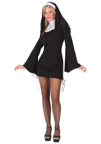 Nothing says sexy like a woman who has given her life to chastity, poverty and obedience.  http://www.halloweencostumes.com/