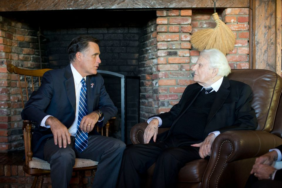In mid-October, Romney met with Graham and his son, Franklin, who leads the Billy Graham Evangelistic Association. The elder