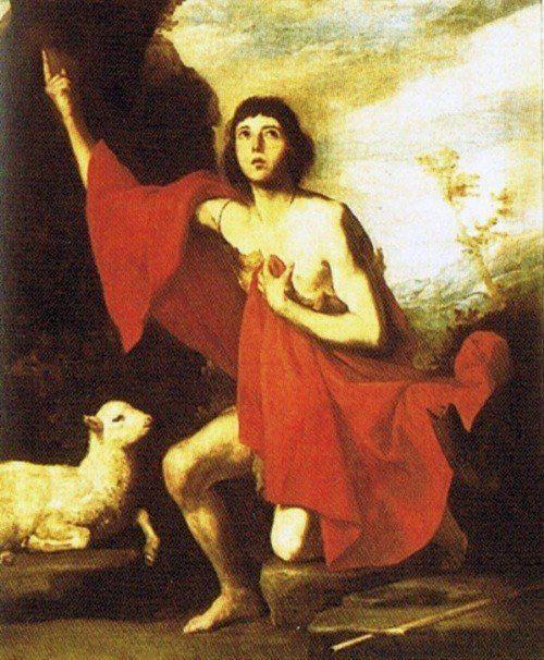 John the Baptist.  Św.  Jan Chrzciciel. |  description | date s | 1630 | medium oil | canvas | dimensions cm | 132 | 95.5 | i